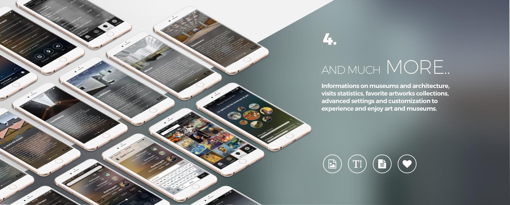 Enjoymuseum. Museum experience design - Fabio Besti - App concept 4