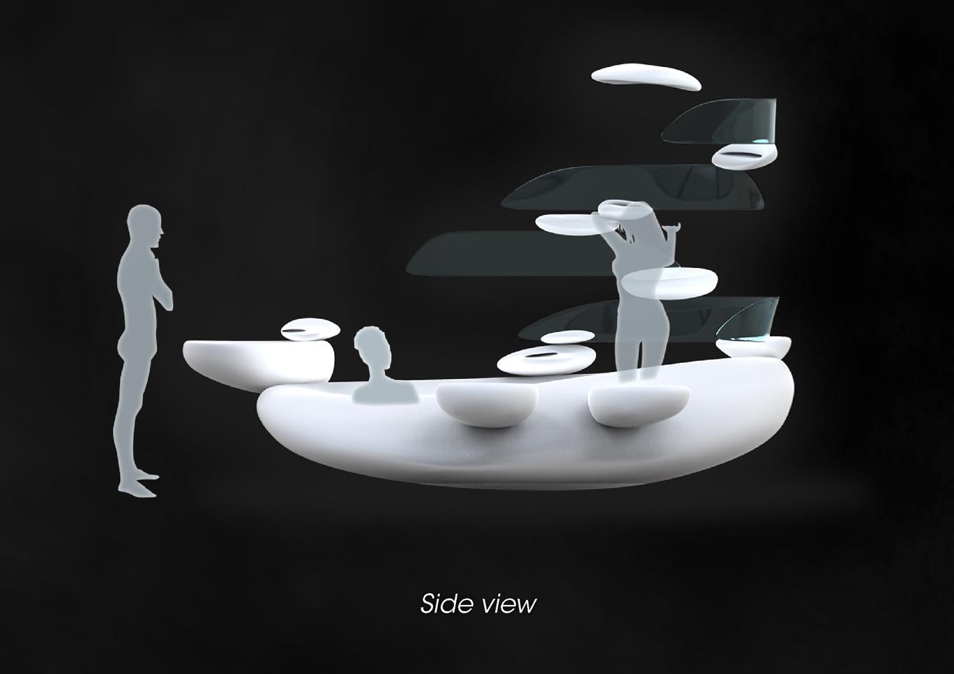 Equilibrio de Roca by Fabio Besti - Side