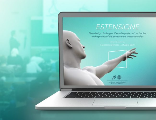 Estensione. New Design Challanges by Fabio Besti and Francesco Samorè - Cover 1