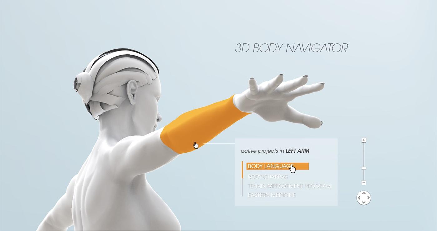 Jawbone EXO Ecosystem by Fabio Besti - 3D Navigator 2