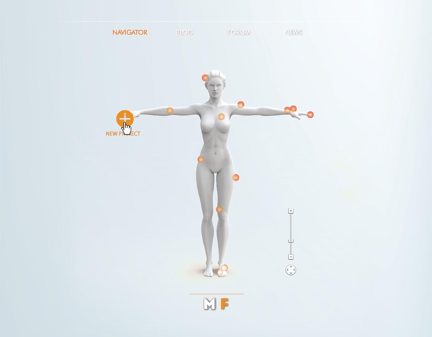 Jawbone EXO Ecosystem by Fabio Besti - 3D Navigator