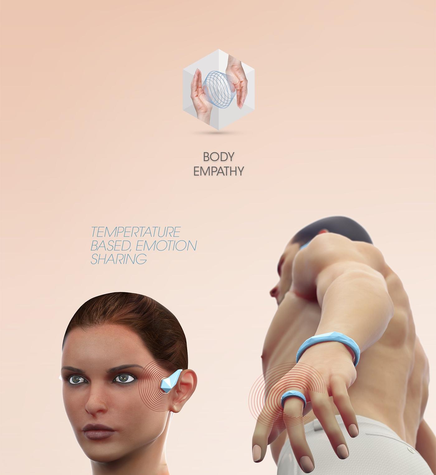 Jawbone EXO Ecosystem by Fabio Besti - Body Empathy