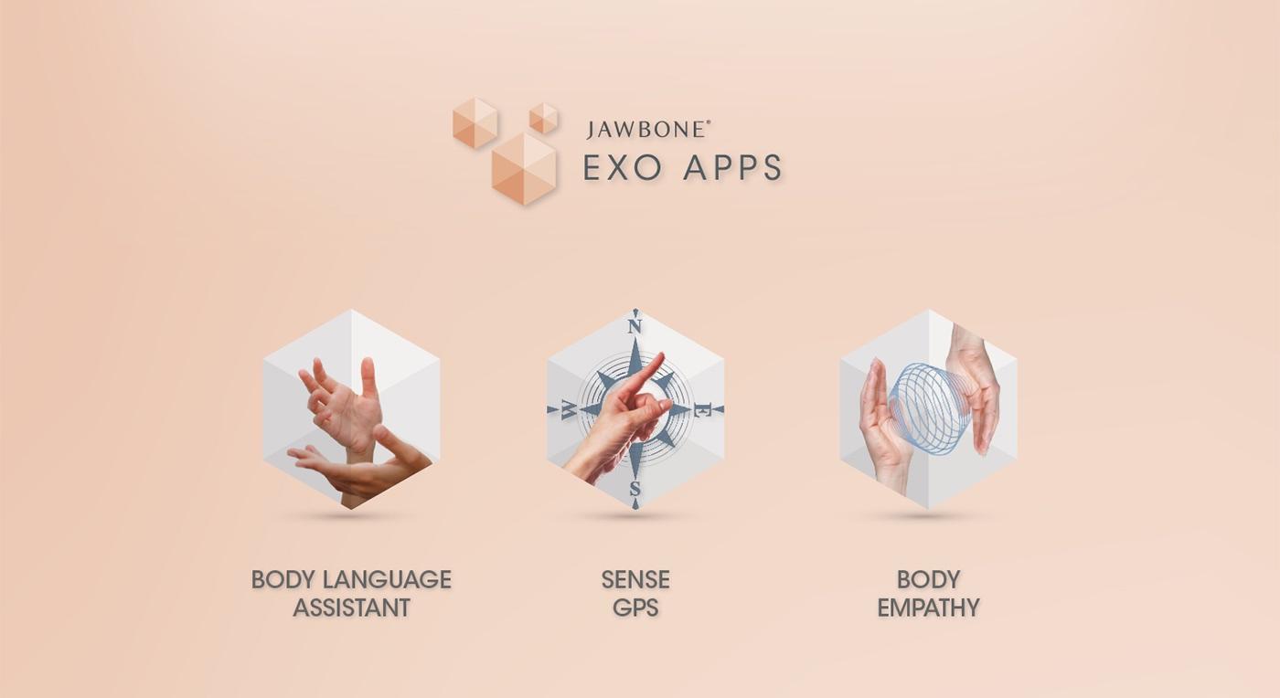 Jawbone EXO Ecosystem by Fabio Besti - EXO apps