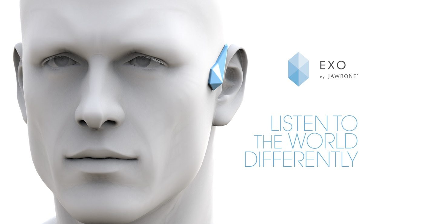 Jawbone EXO Ecosystem by Fabio Besti - EXO headset ADV