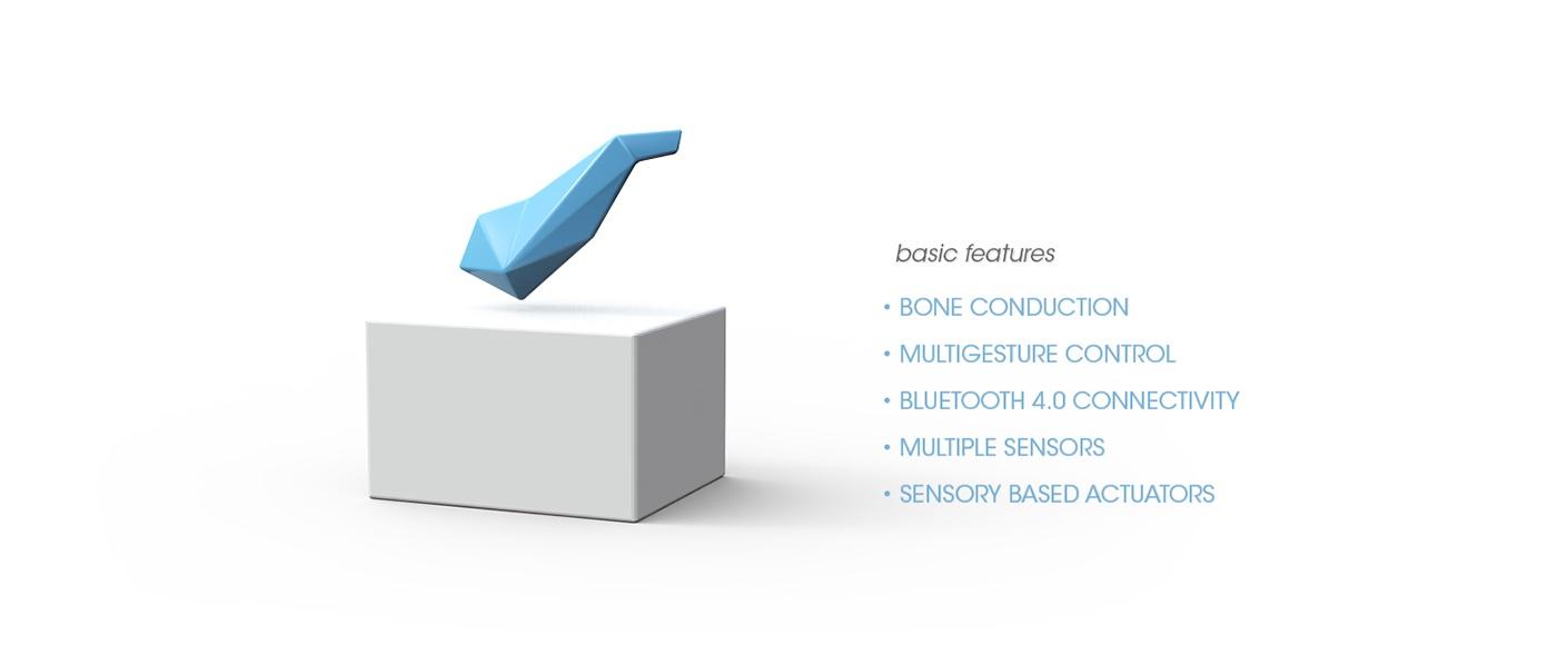 Jawbone EXO Ecosystem by Fabio Besti - EXO headset