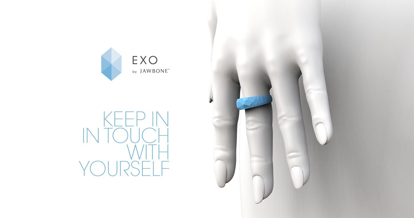 Jawbone EXO Ecosystem by Fabio Besti - EXO ring ADV