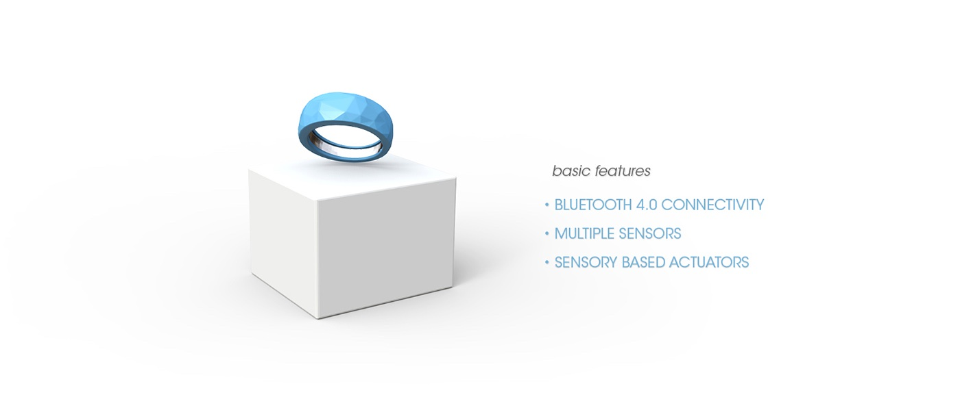 Jawbone EXO Ecosystem by Fabio Besti - EXO ring