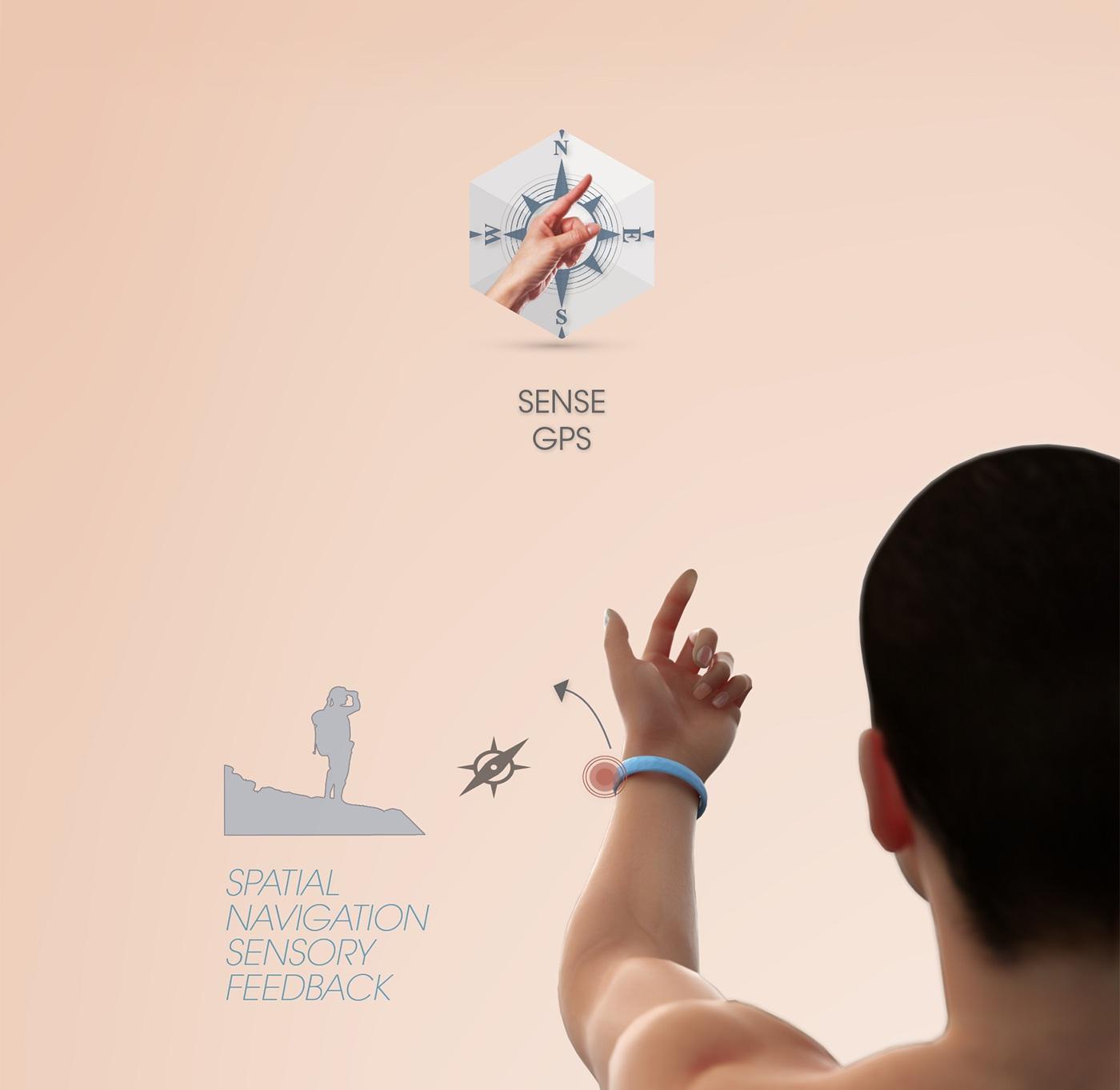 Jawbone EXO Ecosystem by Fabio Besti - Sensory GPS
