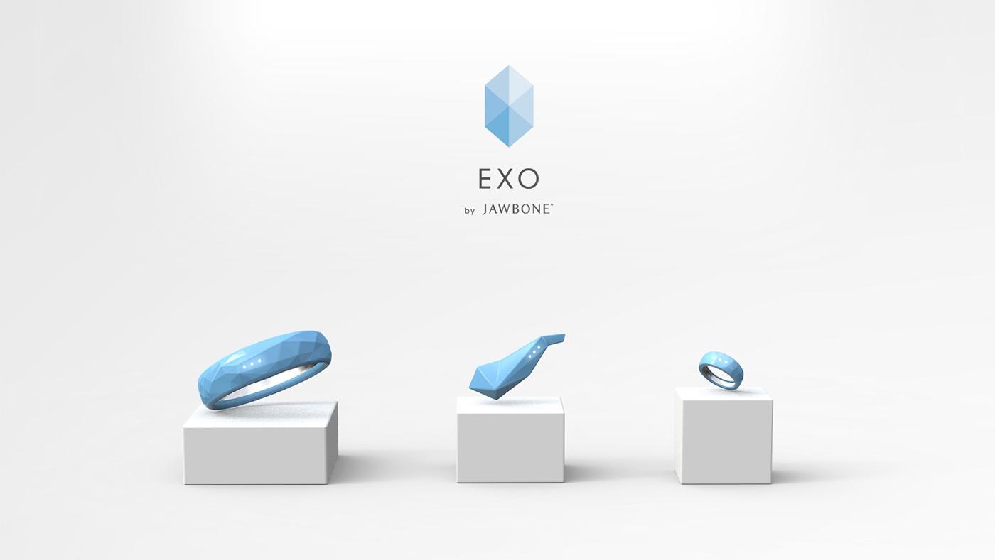 Jawbone EXO Ecosystem by Fabio Besti - wearables cover