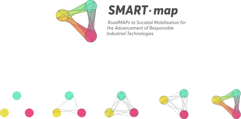 Horizon 2020 SMART-map Visual Identity - Logo construction - Fabio Besti Interdisciplinary Design