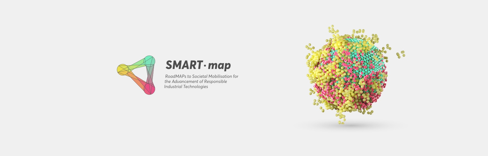 Horizon 2020 SMART-map Visual Identity - Logo + illustration 2 - Fabio Besti Interdisciplinary Design