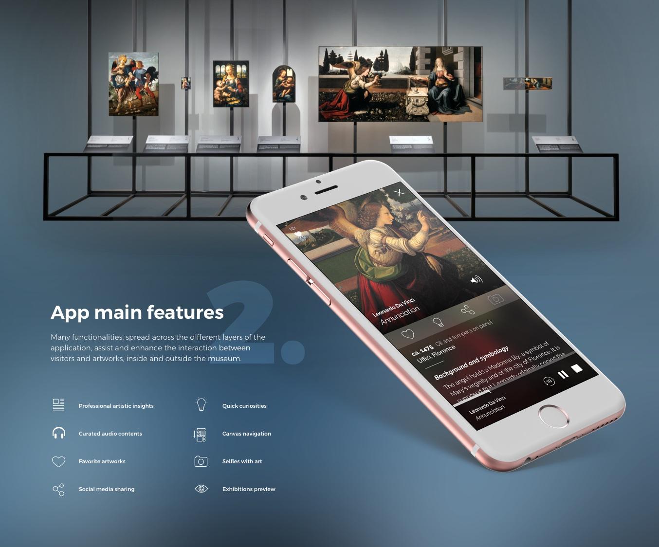 AppGuide+ Leonardiana Museum Experience - Features