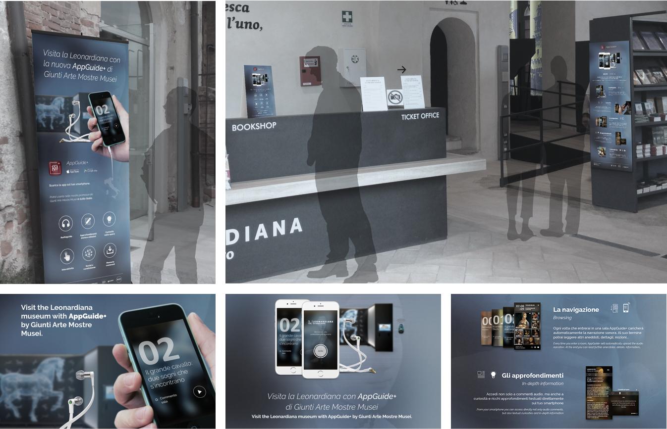 AppGuide+ Leonardiana Museum Experience - Signage