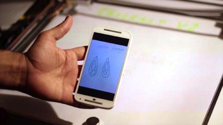 Chalkaat. Augmented Reality laser-cutter. Fabio Besti, Anirudh Sharma, Nitesh Kadyan 00956