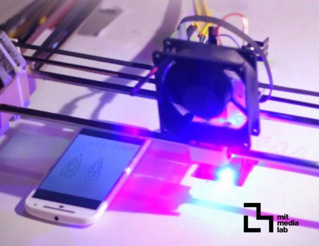Chalkaat. Augmented Reality laser-cutter. Fabio Besti, Anirudh Sharma, Nitesh Kadyan 2.1