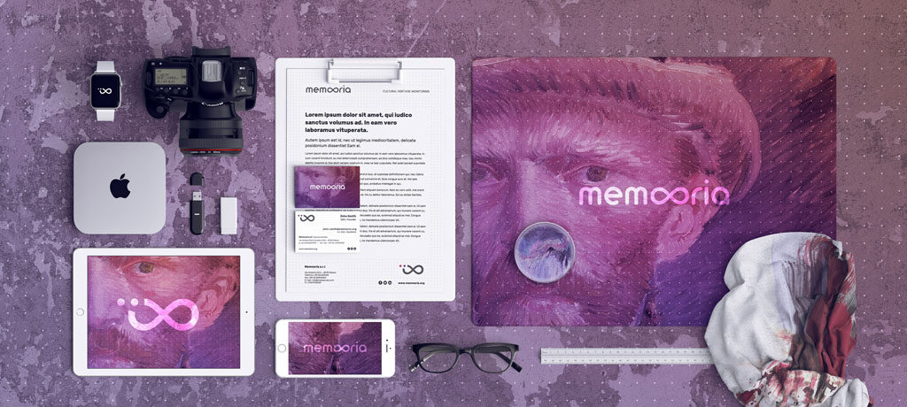 Memooria Branding by Fabio Besti Interdisciplinary Design