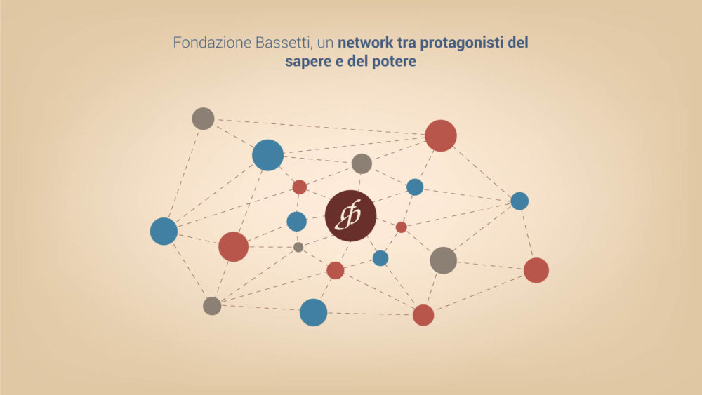 Frame of the visual storytelling of Fondazione Giannino Bassetti by Fabio Besti