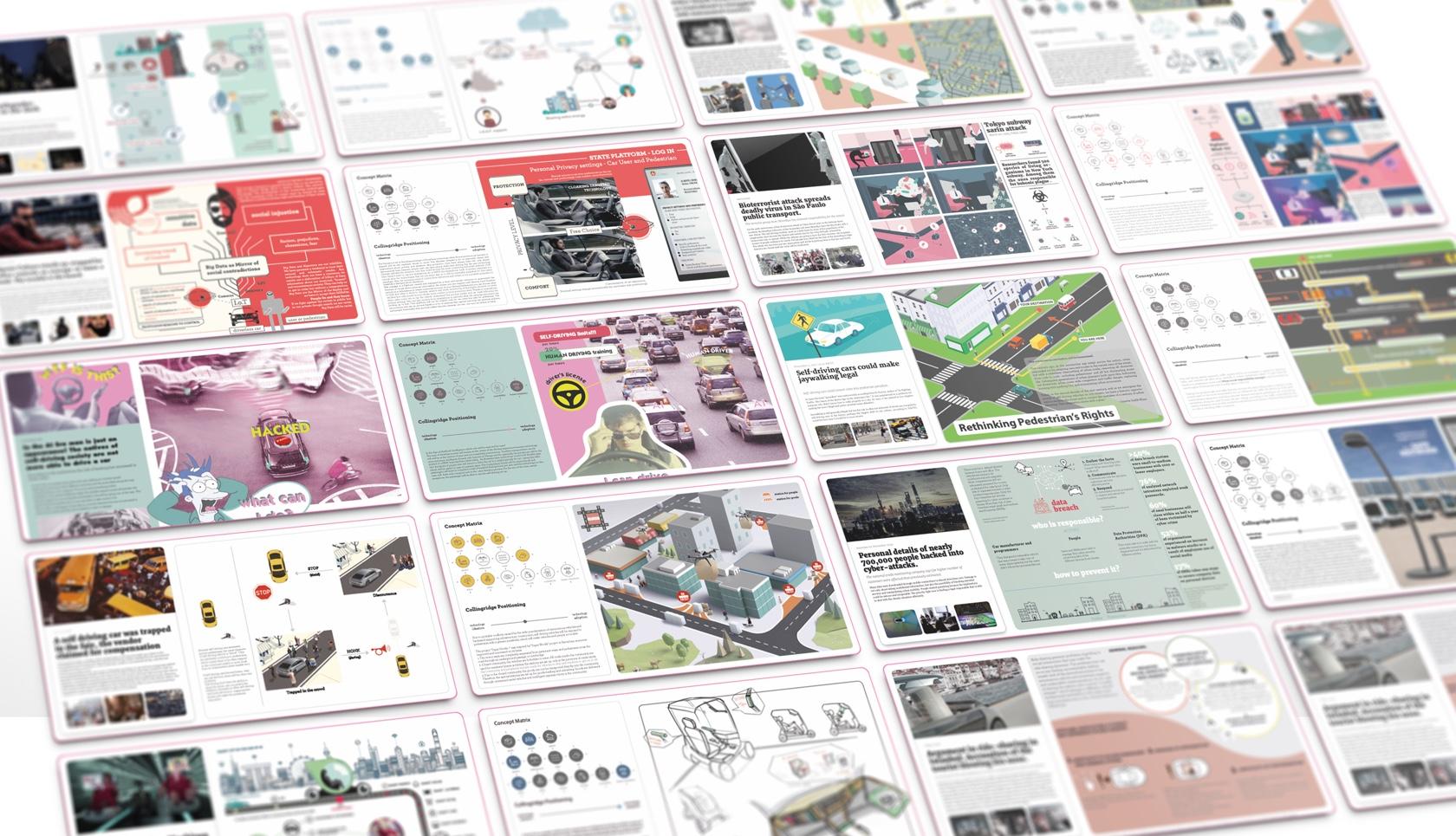 Self-Driving Society - Students Work - Fabio Besti Interdisciplinary Design